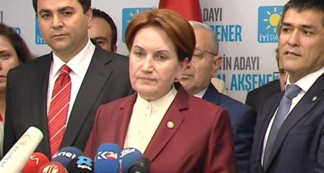 İYİ Partide Meral Akşener kararı teyit edildi
