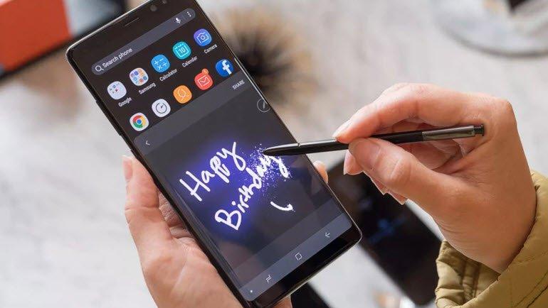 Note 9, bluetooth kalemle gelecek!