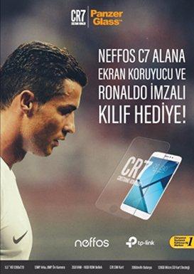 Ronaldo bir telefona imza atarsa!