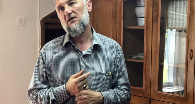 Tekirdağda skandal: Sela okuyan imam darp edildi