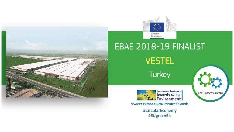 Vestel, Avrupa Çevre Ödülleri'nde