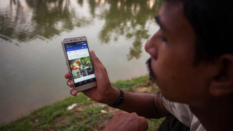 Facebook, Myanmar hesabını sildi!