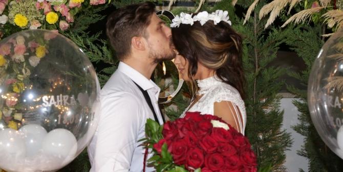Sahra Işık ve İdris Aybirdi Rüya Gibi Bir Törenle Nişanlandılar!