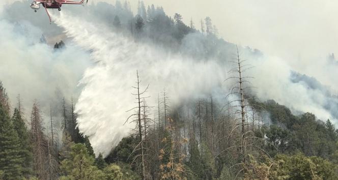 Kaliforniyada yangınlar söndürülemiyor