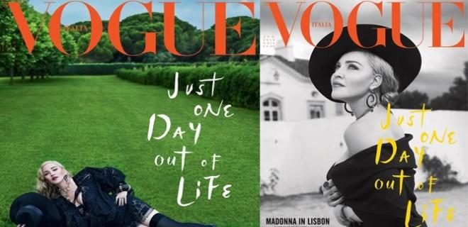 Madonna'ya Türk kapak