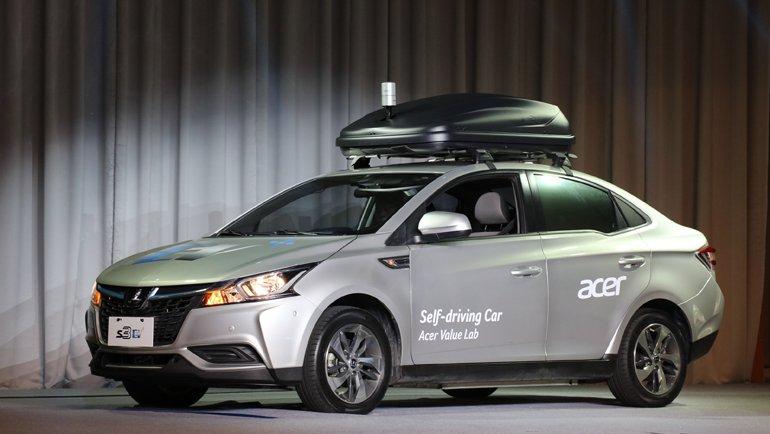 Acer'dan sürücüsüz otomobil geldi!