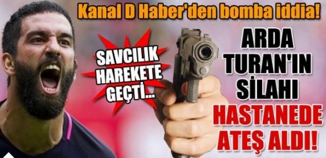 'Arda Turan'ın silahı hastanede ateş aldı' iddiası!