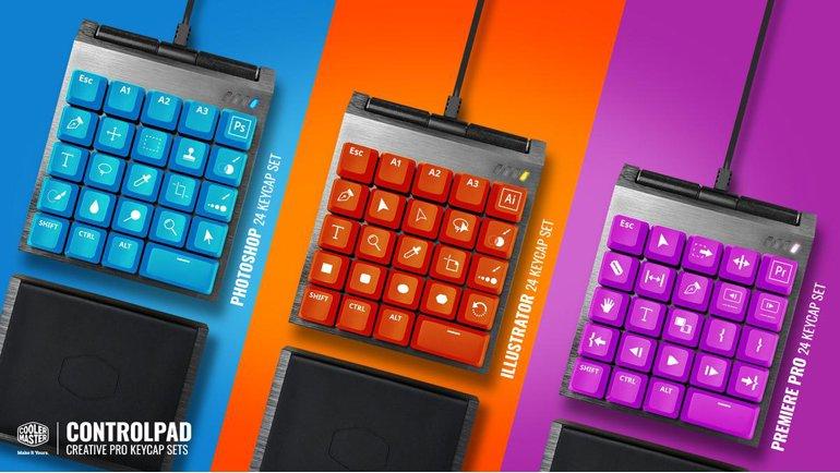 Cooler Master'dan yeni ControlPad!