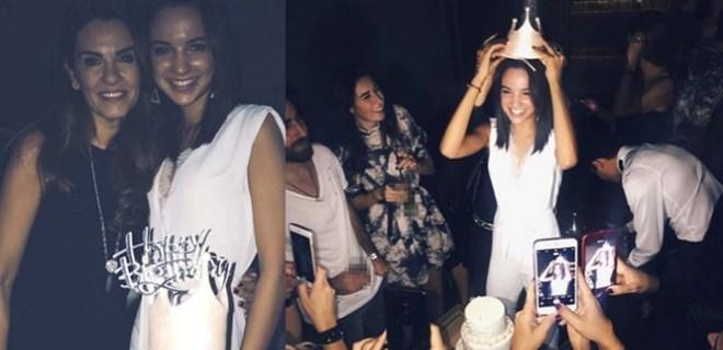 Özlem Kaymaz'dan kızına doğum günü partisi