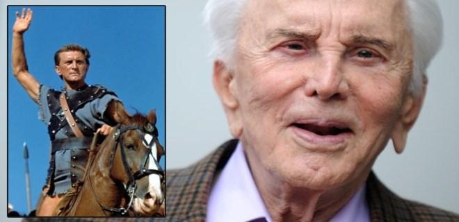 Kirk Douglas 102 yaşına bastı!
