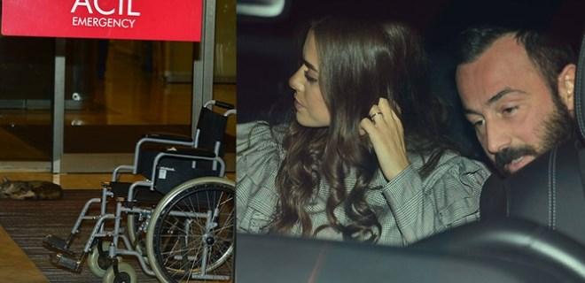 Bensu Soral apar topar hastaneye kaldırıldı!
