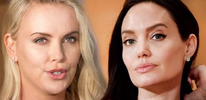 Charlize Theron ve Angelina Jolie'nin bilinmeyen düşmanlığı!