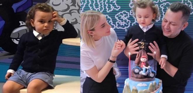 Gülşen'in oğlu Azur iki yaşına bastı