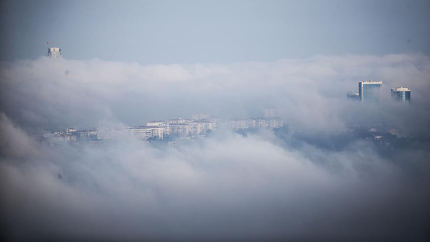 İstanbul'da Etkili Olan Yoğun Sis Nedeniyle Kara, Deniz ve Hava Ulaşımı Aksadı