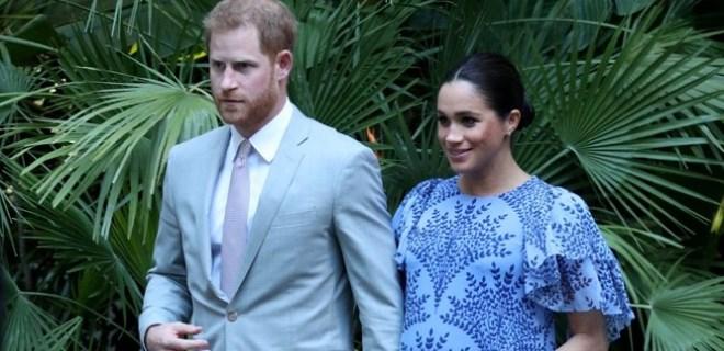 Prens Harry'den soğuk şaka: 'Benden mi?'