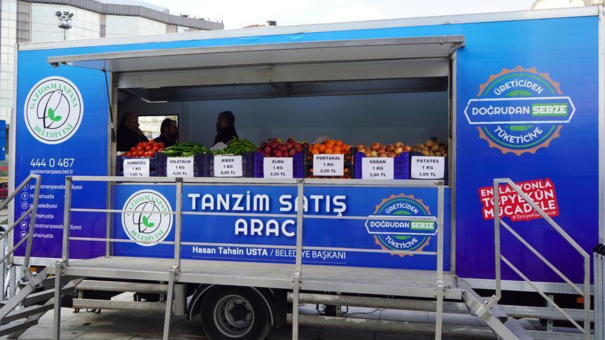 Satışlar Başladı: Ucuz Meyve Sebze İçin İstanbul'da ve Ankara'da 'Tanzim Satış Noktaları' Açıldı