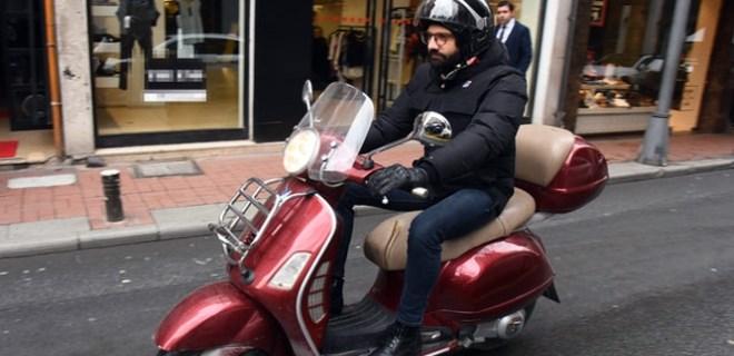 Trafik Kaan Urgancıoğlu'nun canını sıktı