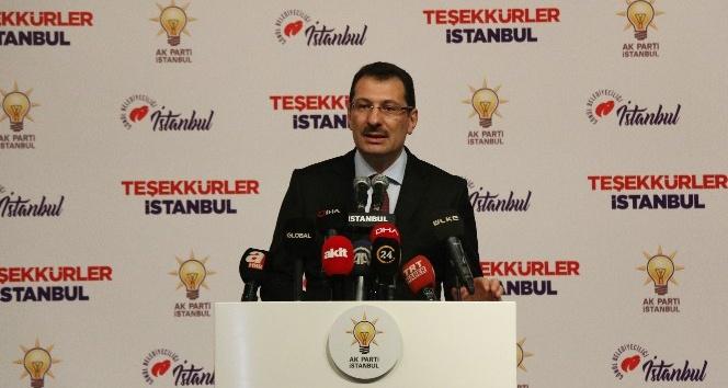 AK Parti Genel Başkan Yardımcısı Yavuz: 'AK Parti lehine yazılan oy bugün 13 bin 969'dur'