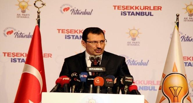 AK Parti Genel Başkan Yardımcısı Yavuz : 'Fark 14 binlere inmiş bulunuyor'
