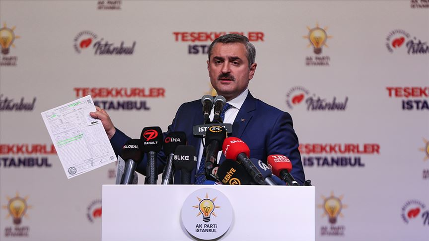 AKP İstanbul İl Başkanı Şenocak: '39 İlçe Seçim Kuruluna İtirazlarımızı İlettik'