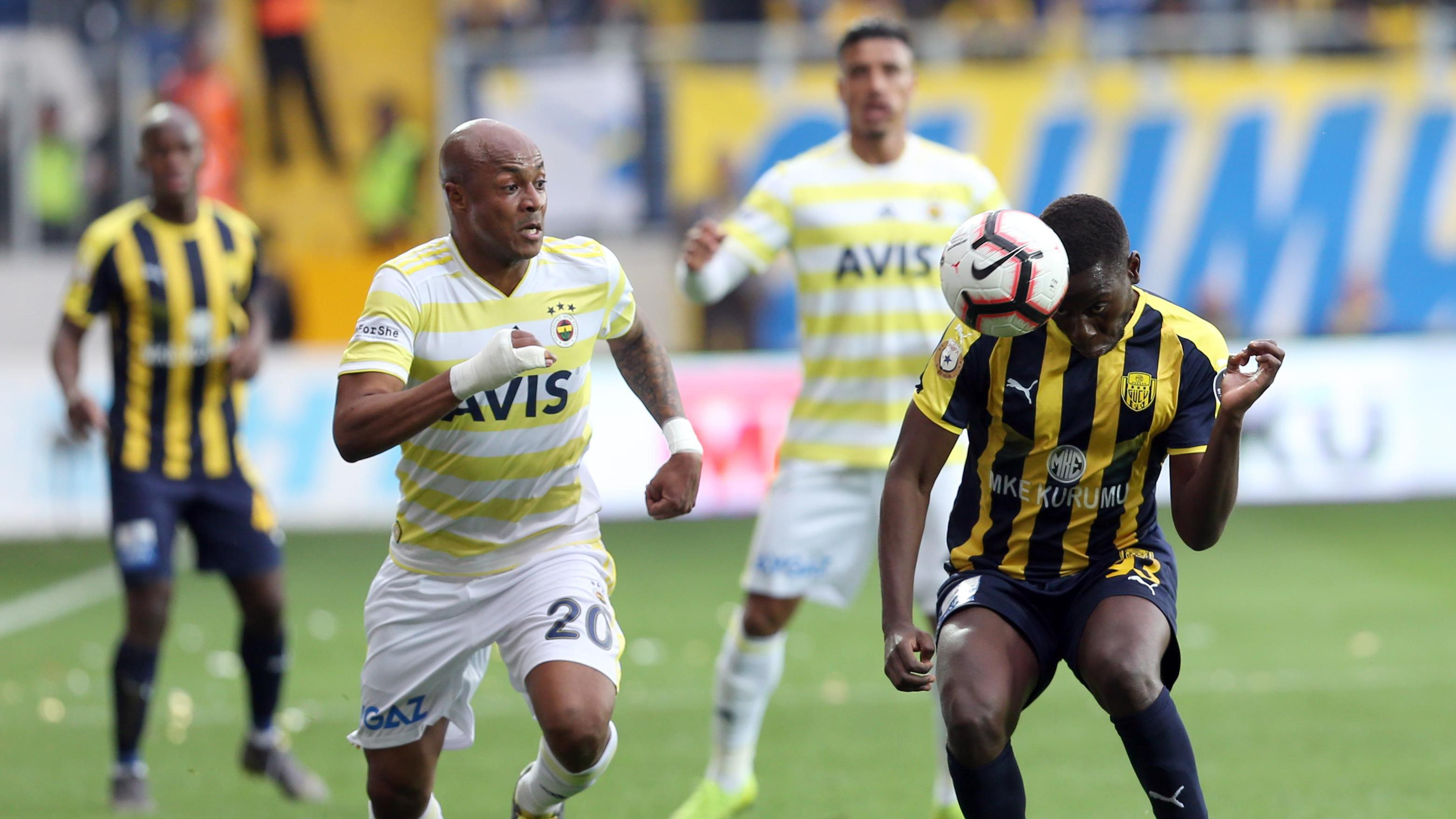 Ankaragücü - Fenerbahçe maçından fotoğraflar