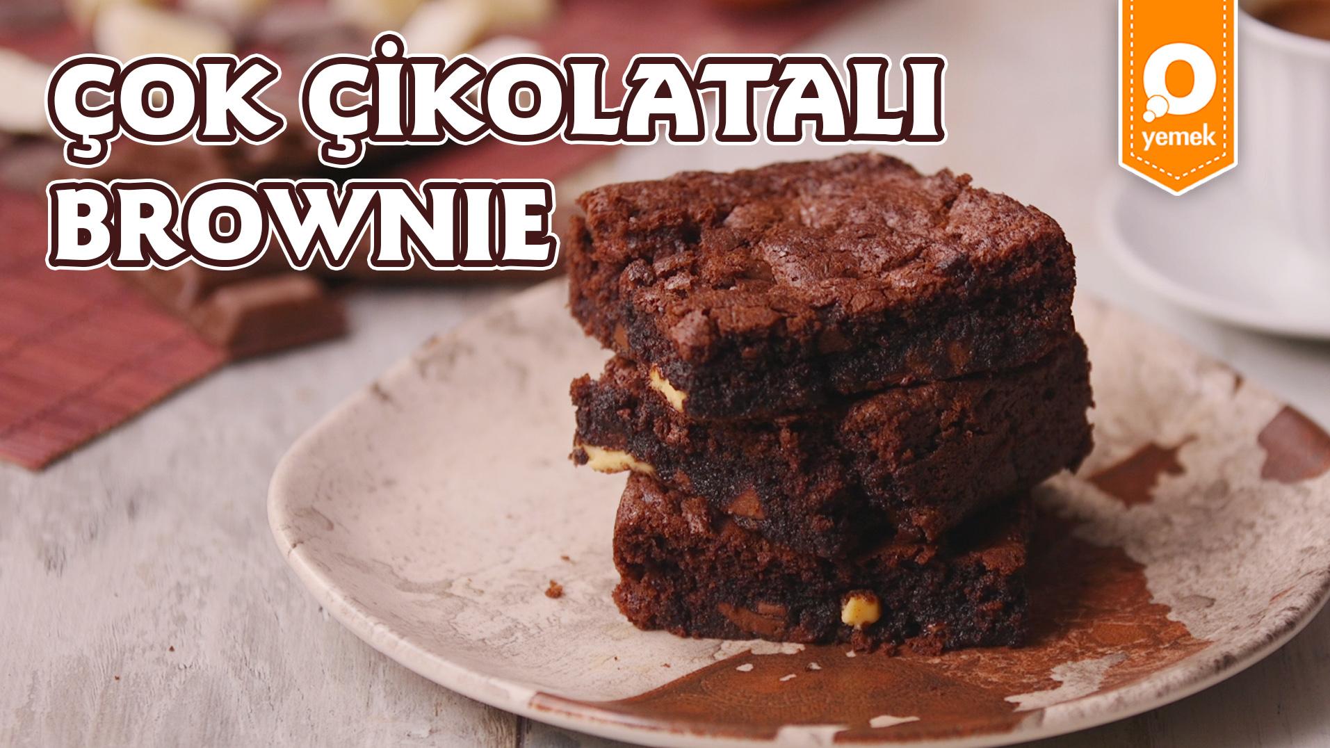 Çikolata Aşıklarına Müjde! Çok Çikolatalı Brownie Nasıl Yapılır?