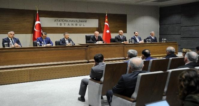 Cumhurbaşkanı Erdoğan: 'Organize bazı suçların işlendiğini gördük, YSK'ya da bu bilgilerle gidiyoruz'