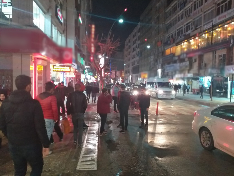 Elazığ'da 5,2 Büyüklüğünde Deprem