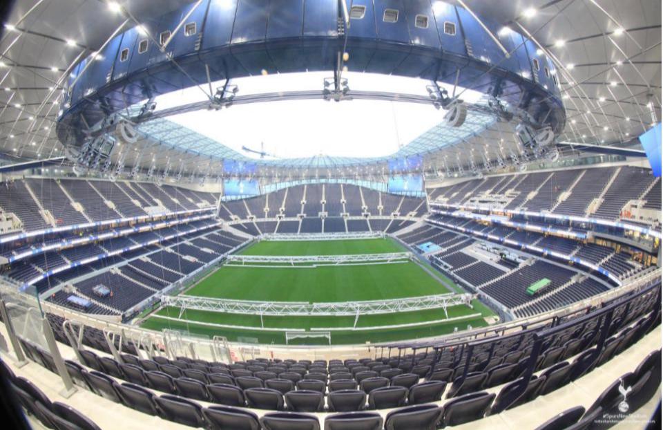 İşte Tottenhamın yeni stadı!