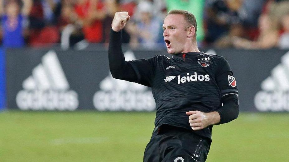 Rooney mesafe tanımadı, muhteşem gol!