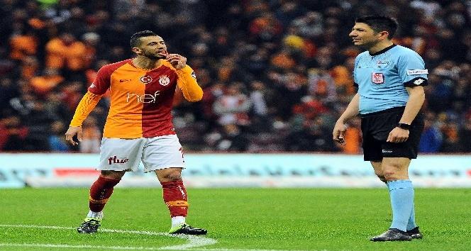 Spor Toto Süper Lig: Galatasaray: 1 - Evkur Yeni Malatyaspor: 0 (İlk yarı)