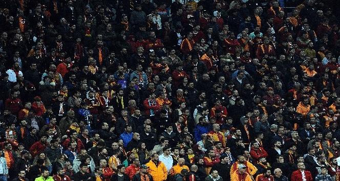 Türk Telekom Stadyumu'nda maçı 33 bin 654 seyirci takip etti
