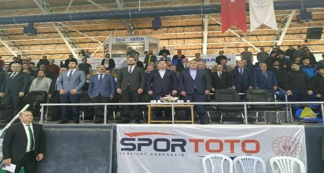 Türkiye Gençler Greko-Romen Güreş Şampiyonası Sakarya'da başladı