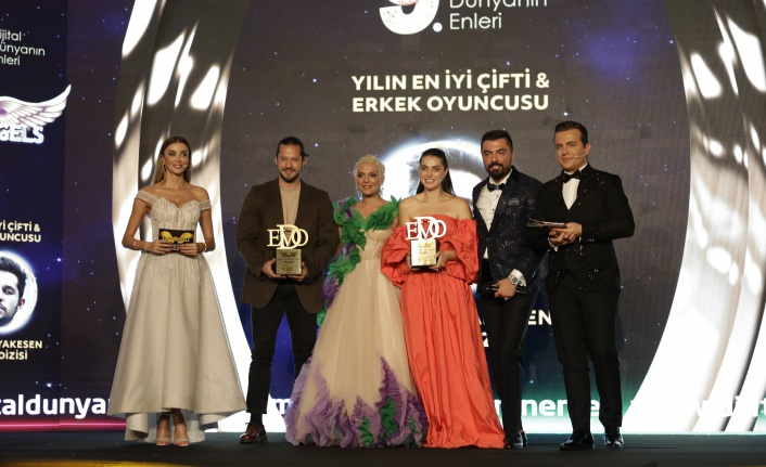 Yılın en iyi çifti & erkek oyuncusu: Ahmet Kayakesen seçildi.