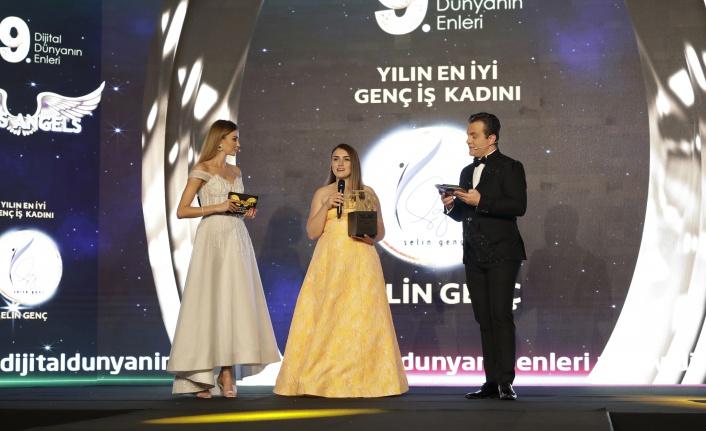 Yılın en iyi genç iş kadını: Selin Genç seçildi.