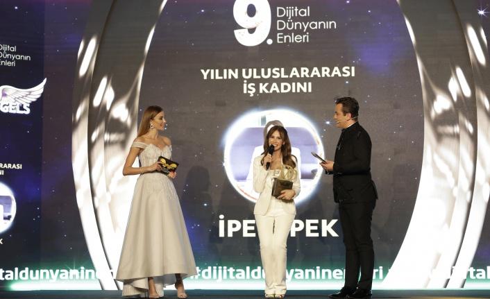 Yılın uluslararası iş kadını: İpek İpek seçildi.