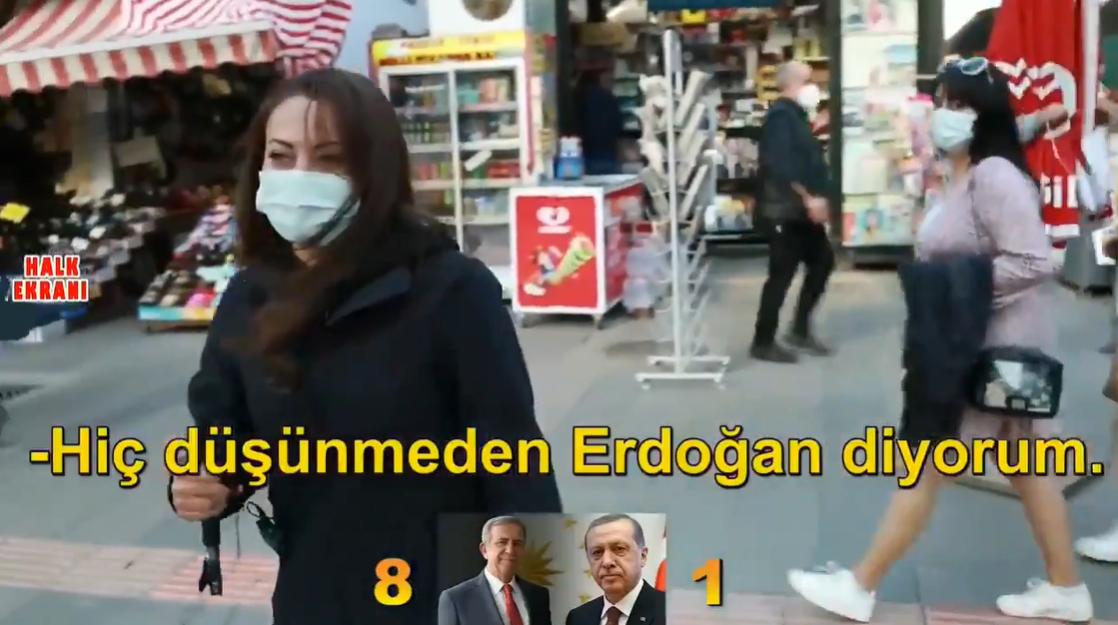 2023'te Cumhurbaşkanı Olarak Kimi Görmek İstersiniz?: 'Hiç Düşünmeden Erdoğan, Düşünürsem Mansur Yavaş Derim'
