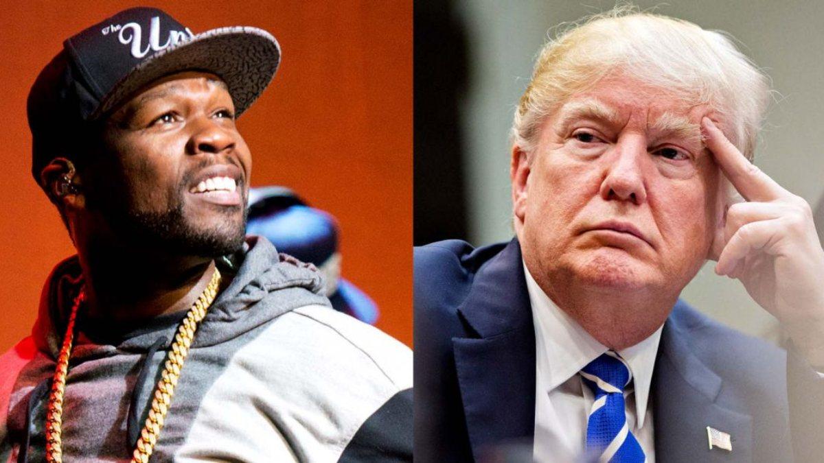50 Cent: Trump 1 milyon dolar teklif etti