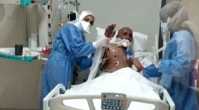 60 yaşındaki corona hastası 155 gün sonra yoğun bakımdan çıktı
