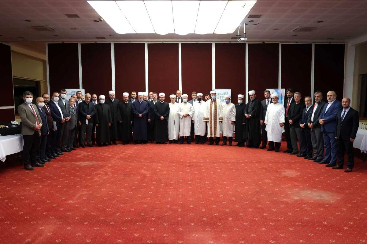 8. Balkan Ülkeleri Diyanet İşleri Başkanları İstişare Toplantısı Edirne'de yapıldı