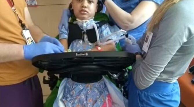 8 yaşında Covid-19 yüzünden felç oldu