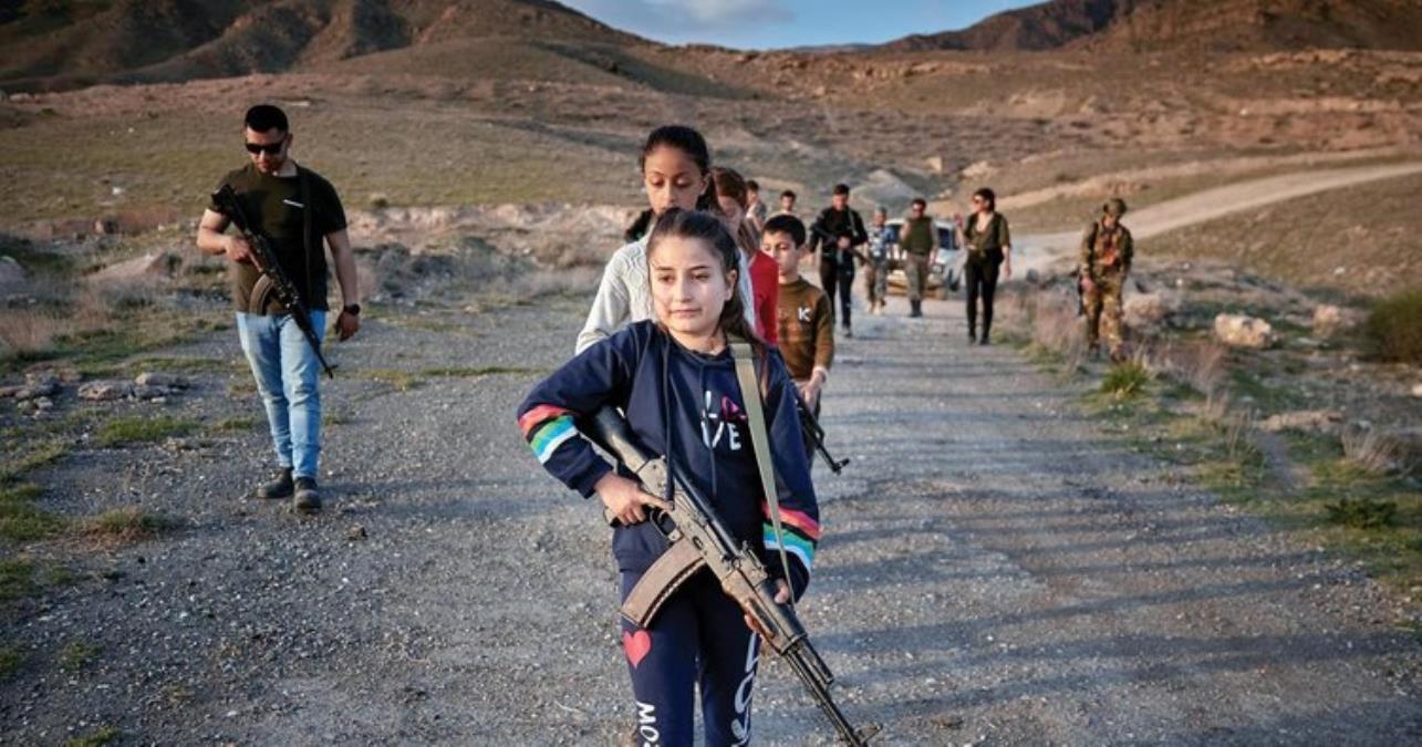 ABD'li eski askerler, Ermeni köylerinde çocuklara gerilla eğitimi veriyor