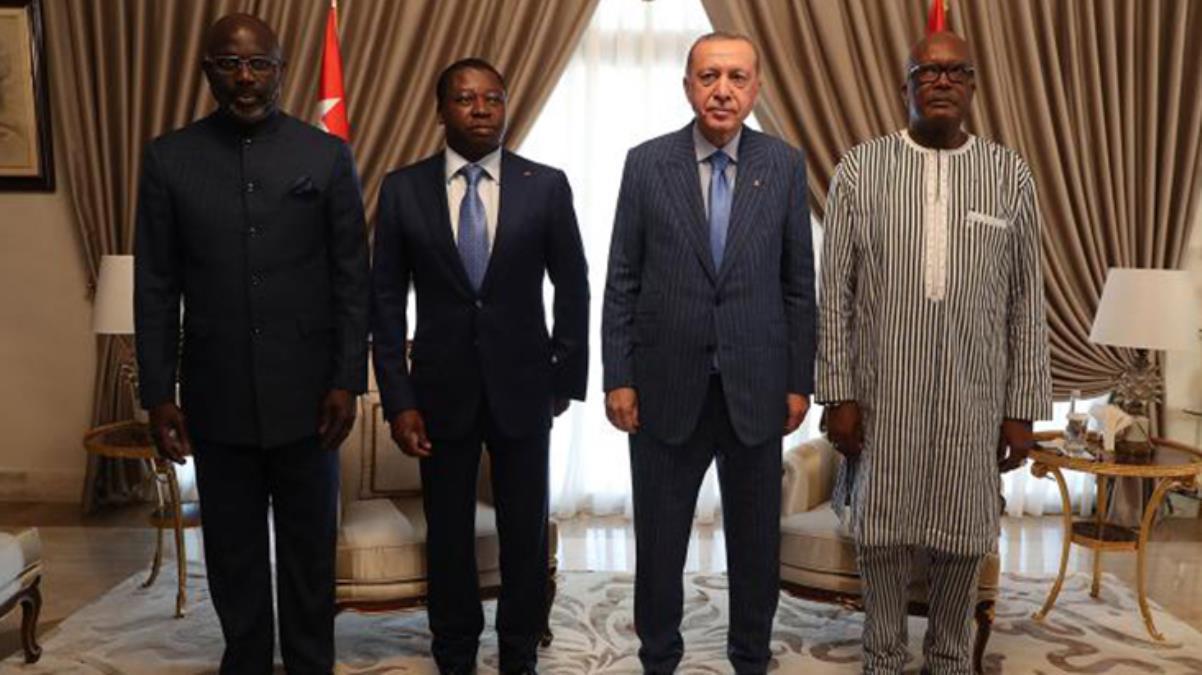 Afrika'daki dörtlü zirveden ortak bildiri: Terörle mücadele iş birliği vurgusu yapıldı