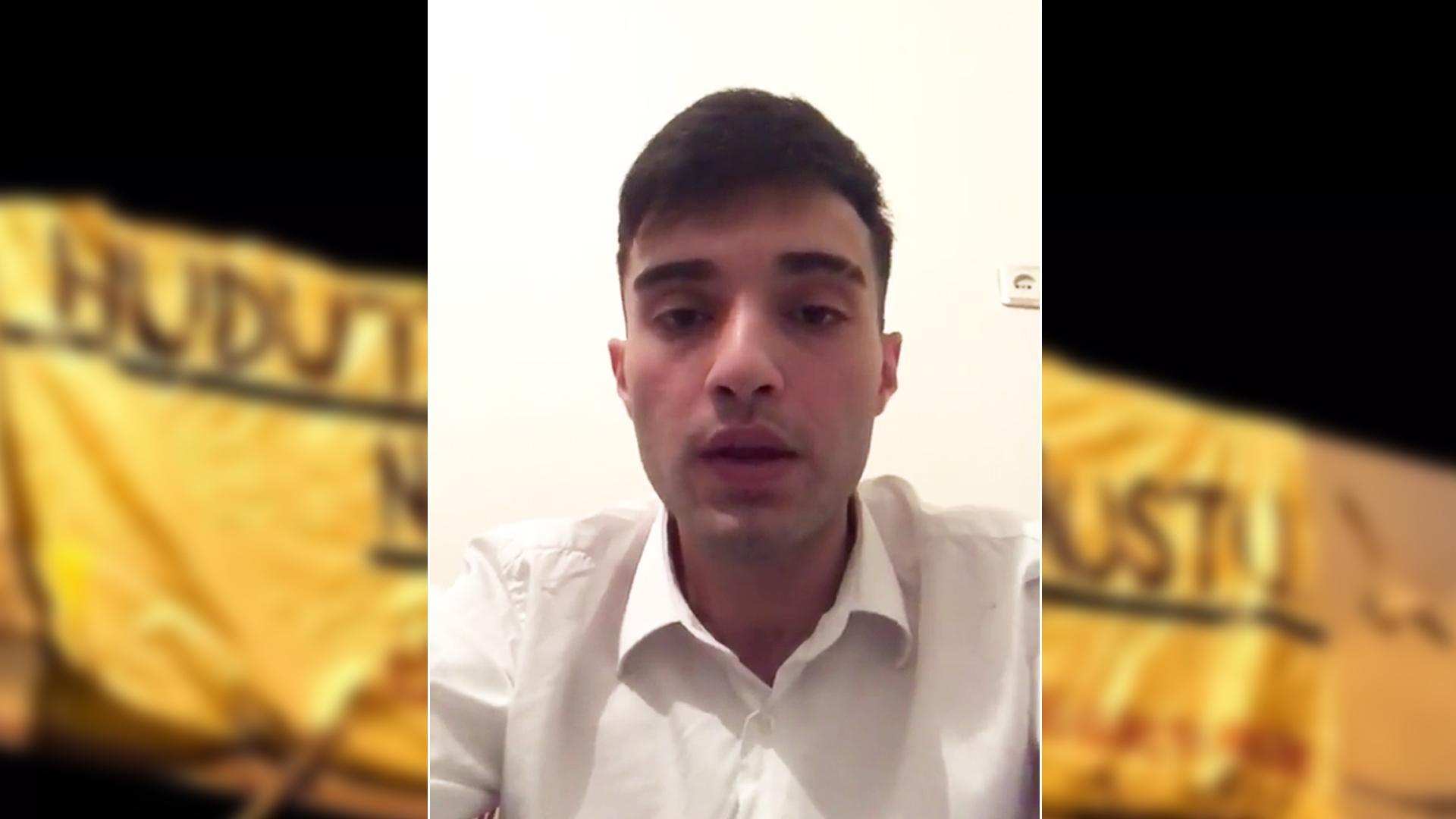 Ahmet Çakmak: 'Videoyu, Ülkü Ocakları Genel Merkezi'nde Tehditle Çektim'