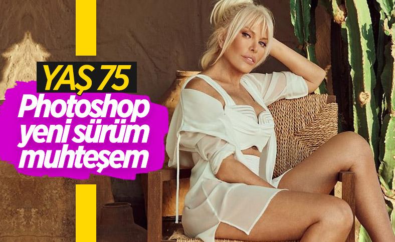 Ajda Pekkan, Photoshop'tan vazgeçemiyor
