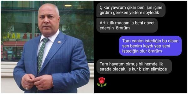 AKP'li Başkanın Başını Ağrıtacak Mesajlaşma İddiası: 'İŞKUR Elimizde'