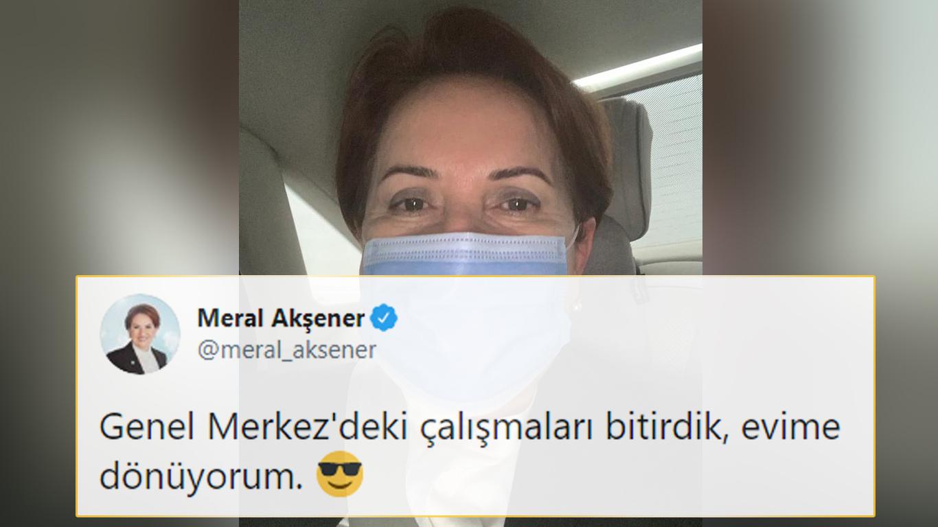 Akşener, Bahçeli'nin 'Evine Dön' Çağrısına Twitter'dan Yanıt Verdi
