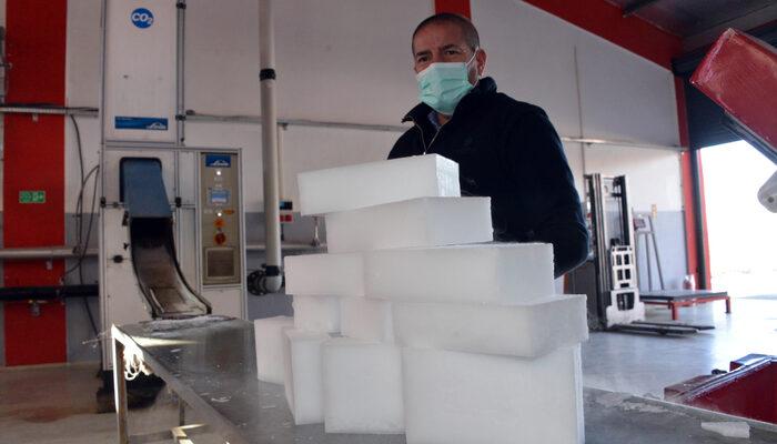 Alman Aşısı, Maraş Dondurması Buzuyla Taşınıyor