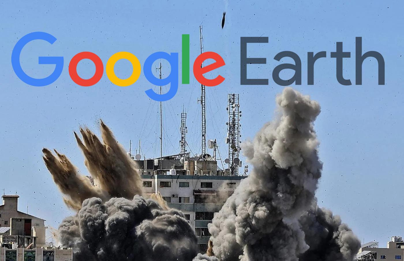 Amaç Yıkımı Gizlemek mi? Gazze, Google Haritalarında Neden Bulanık Görünüyor?