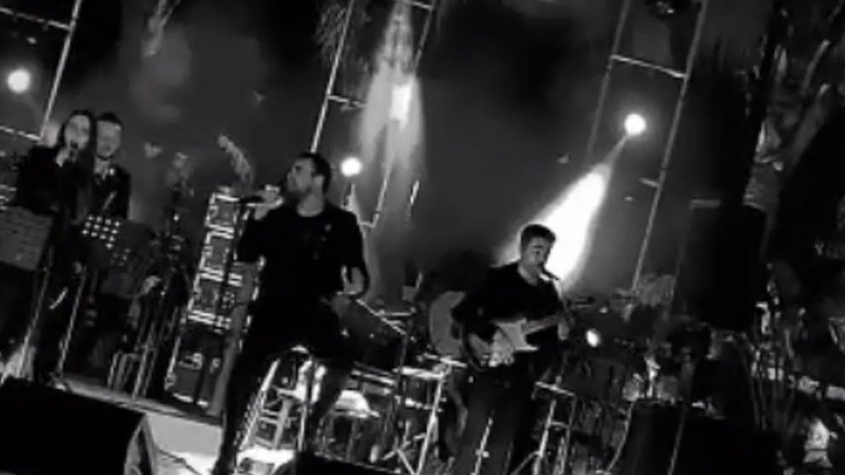 Antalya'da Murat Dalkılıç konseri tepki gördü